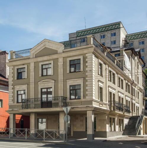 Внешний вид Апарт-отеля на Пушкина 26.